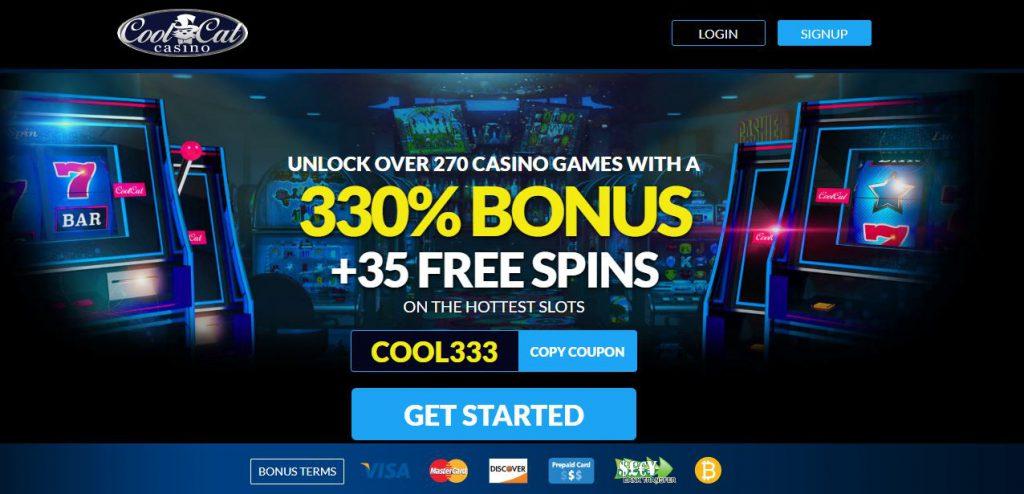CoolCat Casino Promotion